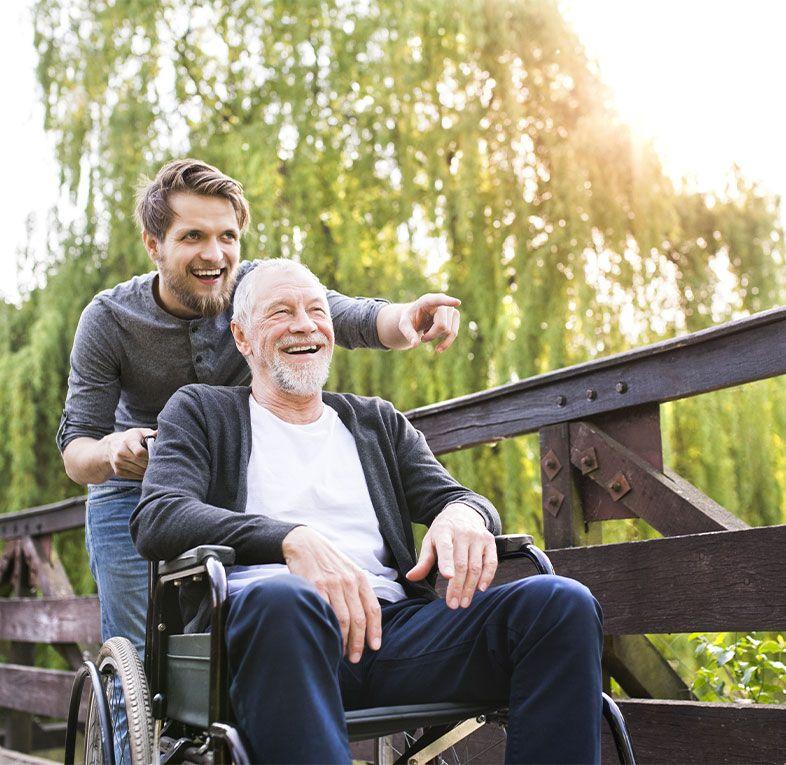 man-wheelchair-son