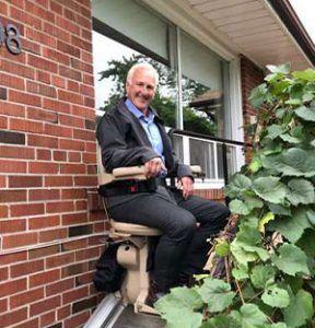 Toronto chair lift elderly