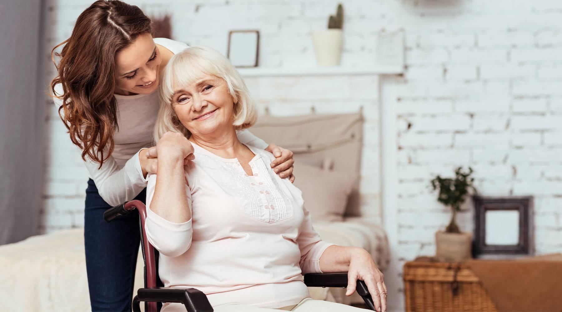 senior home wheelchair